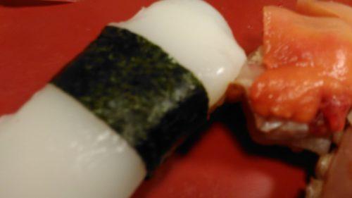天満のお寿司屋さん、ピンボケ