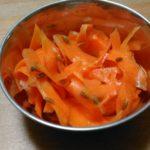 しりしり人参のクミンサラダ~簡単にできるスパイス妊活レシピ
